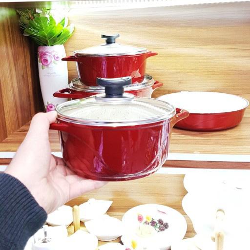 سرویس پخت و پز 11 پارچه عروس مدل ویکتوریا