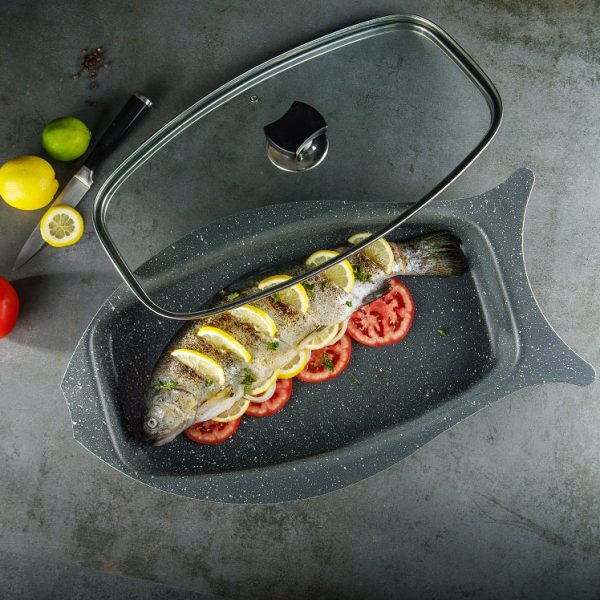 تابه ماهی عروس مدل فانتزی