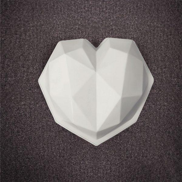 قالب کیک و ژله عروس مدل قلب
