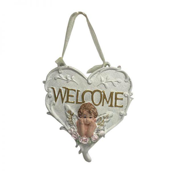 آویز تزیینی مدل welcome کد 178