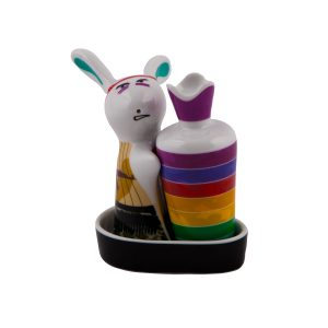 نمکدان تاپ جویس طرح خرگوش بسته 2 عددی