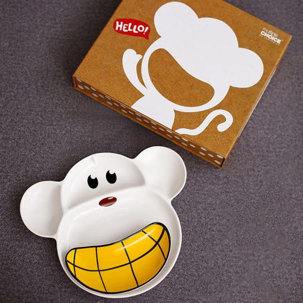 سرویس غذاخوری کودک 2 پارچه تاپ جویس طرح میمون